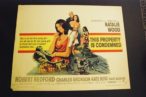 This Property Is Condemned Original Half Sheet 1966 ...