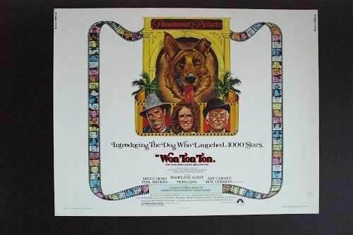 Won Ton Ton - Original Half Sheet - 1975 - *Hollywood ...