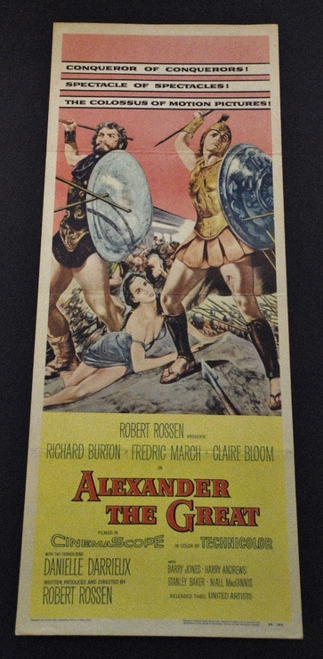 Alexand the Great - Original Insert - 1956 - *Hollywood ...