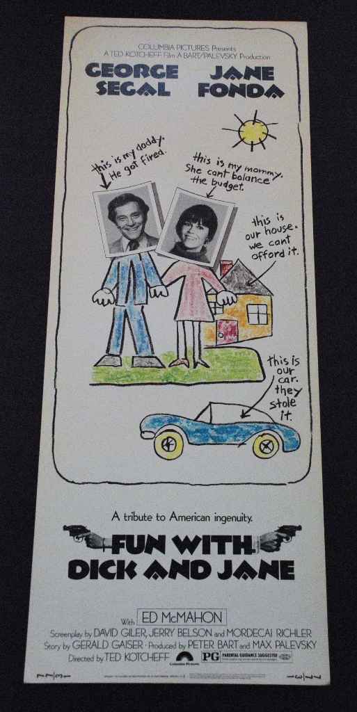 Fun With Dick and Jane - Original Insert - 1977 ...