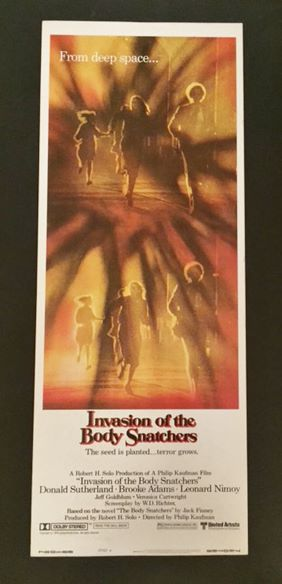 Invasion of the Body Snatchers - Original Movie Poster ...