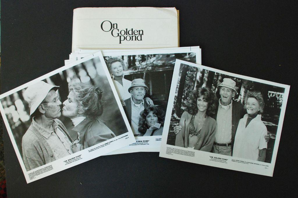 On Golden Pond, 1981 Press Kit, original - *Hollywood ...
