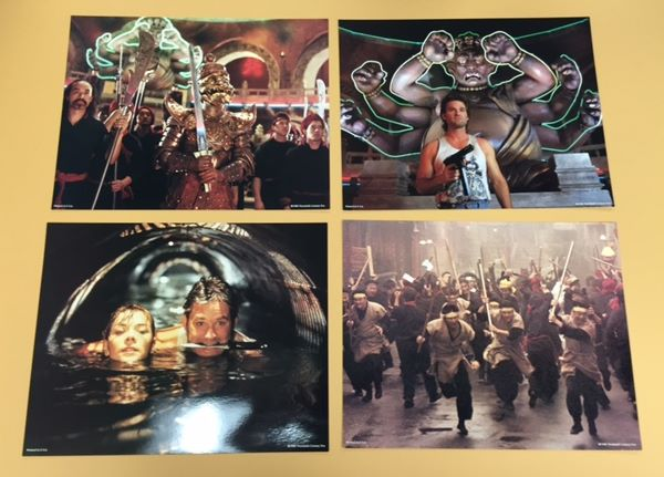 Big Trouble in Little China - Original Lobby Card set ...