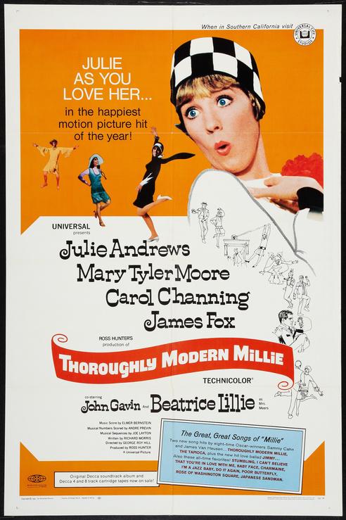 Thoroughly Modern Millie 1967 - Original Movie Poster ...