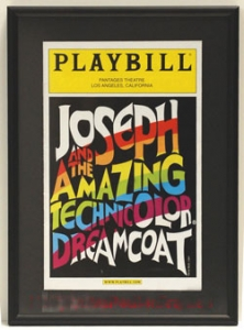 Playbill Frame with Mat